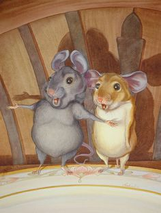 AESOP'S FABLES - THE TOWN MOUSE AND THE COUNTRY MOUSE BY BRAD SNEED