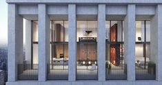 David Chipperfield Reveals His First Residential Project in New York,© Miller Hare