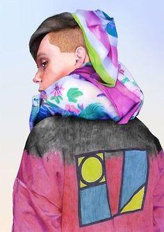 Alexandre Korobov fashion illustration
