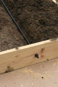 The Homestead Survival | Irrigation System for Raised Bed Garden | http://thehomesteadsurvival.com