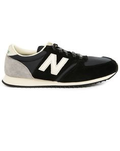 41cc20a9d902 420 black suede and mesh sneakers NEW BALANCE