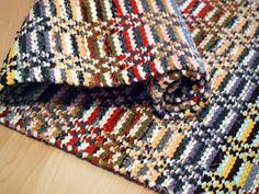 Textiles, Scandinavian Style, Pattern Design, Hand Weaving, Blanket, Retro, Crochet, Rag Rugs, Carpets