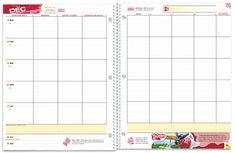 This layout of the school planner is the best one for high school and middle school students.  The planner gives the students ( even the messy ones) plenty of room to write assignments. Many of the high school planners are stingy with the room they offer students to write assignments.  On many occasions I have seen HS students not use their small planners because they were so frustrated with the limited room.