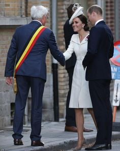 The Duke and Duchess of Cambridge have joined the Belgian royal family to mark 100 years s...