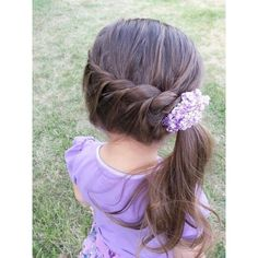 50 Best Little Girls Hairstyles Ideas ❤ liked on Polyvore featuring hair, kids, kids hair, hair style and kids hairstyles