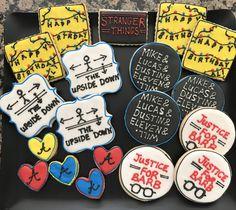 Kelly's Stranger Things cookies