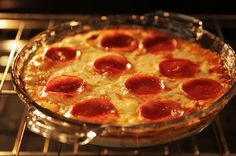 Add some more goodies and seasoning to this yummy pizza dip