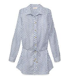 Tory Burch BORIA BELTED TUNIC got the cover up too :)