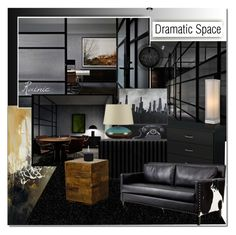 """Dramatic Space"" by rainie-minnie ❤ liked on Polyvore"