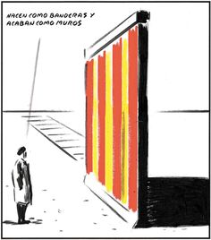 Atravesar muros, rasgar banderas...