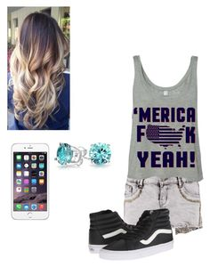 """I'm watching my brother tonight!!!"" by kylie-shawn-forever ❤ liked on Polyvore featuring Boohoo, Vans and Bling Jewelry"