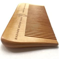 Our Badass Wood Comb is made from one solid piece of walnut hardwood and is perfectly pocket sized! The teeth have been hand sanded to ensure effortless and snag free combing for your badass beard. The beveled design of this comb creates a very strong and durable frame while the teeth take advantage of the width of the base for increased strength without increased rigidity so you can carry this comb around without worrying about breaking teeth.