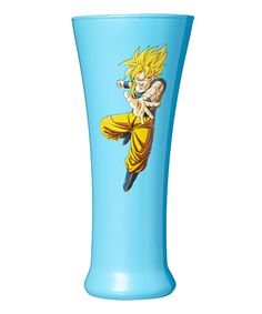 Dragon Ball Z Goku Super Saiyan Fluted Glass