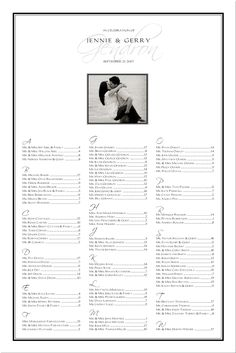 wedding seating chart table seating assignments reception tables