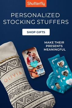 Go big with the small gifts. Get unique gifts as thoughtful stocking stuffers for all the special people in your life.