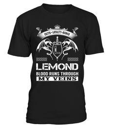 LEMOND Blood Runs Through My Veins