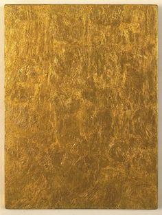 Yves Klein - Gold Monochrome, 1960