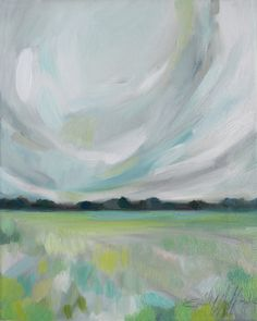 """""""Free Winds"""" Oil Landscape Painting by Emily Jeffords"""