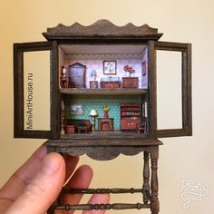 2017. Miniature house ♡ ♡  By miniArtHouse