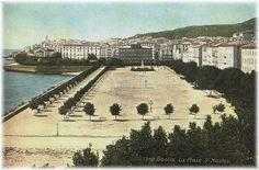 1910 La Place st Nicolas (vue de l'Hotel Cyrnos) 01