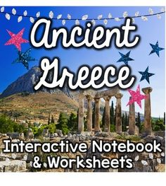 This bundle will cover all your Ancient Greece needs with worksheets, answer keys, and an interactive notebook!Purchase includes:Ancient Greece interactive notebookAncient Greece worksheets-----------------------------------------------------------------------------------Check out all Glitter in Third's ancient civilization products!Ancient ChinaAncient China interactive notebookAncient China interactive notebook