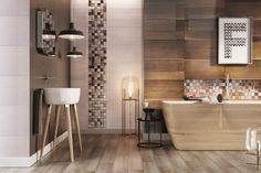 Płytki ceramiczne zwykle układa się głównie w łazienkach i kuchniach. Te same płytki można także mieć w salonie. To podkreśla styl całego mieszkania.