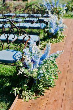 18 Beautiful Wedding Aisle Decoration Ideas ❤ See more: http://www.weddingforward.com/wedding-aisle-decoration-ideas/ #weddings #decorations