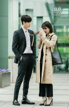 Lee Jong Suk and Bae Suzy