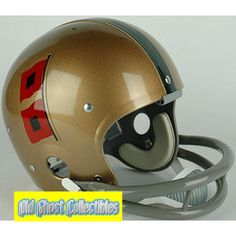 Old Ghost Collectibles - Miami Hurricanes Authentic Throwback Football Helmet 1967, $163.99 (http://www.oldghostcollectibles.com/miami-hurricanes-authentic-throwback-football-helmet-1967/)
