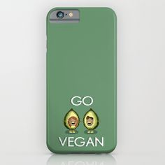 Go Vegan Avocado iPhone Case by biancahaun Its My Bday, Vegans, Going Vegan, Ipod, Avocado, Iphone Cases, Presents, Gifts, Iphone Case