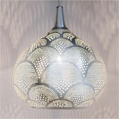 Zenza Princess Fan Small Pendant Light