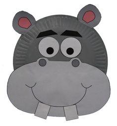 Paper Plate hippo Craft #GaleriAkal Untuk berbagi ide dan kreasi seru si Kecil lainnya, yuk kunjungi website Galeri Akal di www.galeriakal.com Mam!