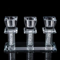 Gorgeous Crystal Candelabra