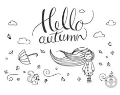 Chalk pen window drawing Autumn – Illustration - All About Decoration Chalk Pens, Chalk Markers, Chalk Art, Fall Chalkboard Art, Chalkboard Lettering, Autumn Doodles, Art Halloween, Autumn Illustration, Chalk Drawings