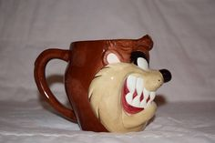 1995 Warner bros. Applause Tasmanian devil face coffee