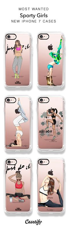 Time to get sweaty! Perfect for yoga and fitness lovers. iPhone clear case available for iPhone Shop for Sports Collection here > Cute Phone Cases, Iphone 7 Plus Cases, Iphone Phone Cases, Phone Covers, Coque Iphone 7 Plus, Accessoires Iphone, Cool Cases, Phone Accessories, Casetify