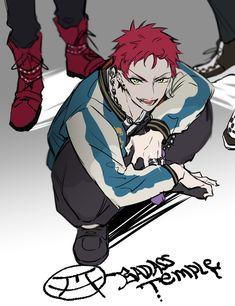 Character Concept, Character Art, Character Design, Red Hair Anime Guy, Anime Guys, Rap Battle, Manga Illustration, South Park, Yandere
