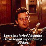 Nick Miller,absinthe