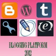 5 Best Blogging Platform 2012