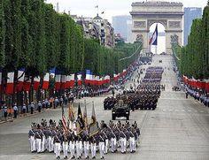Champs-Elysees.Saw this 14/7/10.It was a fantasy come true (despite the pourdown )