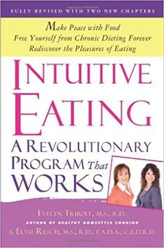 Intuitive Eating by Evelyn Tribole eBook hacked. Intuitive Eating by Evelyn Tribole; Elyse Resch Initially distributed in Intuitive Eating has turned into the go-to book on revamping a sound self-pe. Magic Bullet, Losing Weight Tips, Lose Weight, Weight Loss, Private Practice, Good Books, Books To Read, Healthy Body Images, Diet Books