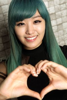 My lovely Jieunnie - Manic Panic Enchanted Forest ♥