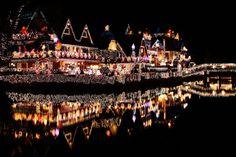 Christmas in Venice, California.
