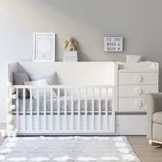 Studio Collection Bedding and Room Decor for Nurseries and Kids Rooms Baby Bedroom, Baby Boy Rooms, Baby Boy Nurseries, Baby Cribs, Nursery Room, Bedroom Sets, Girls Bedroom, Room Baby, Baby Room Furniture