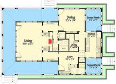 Plan 490012RSK: California Farmhouse