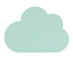 Cabecero de cama Cloud, verde menta - 90x65 cm