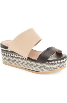 Klub Nico 'Vina' Platform Wedge Sandal (Women) available at #Nordstrom