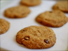 Quinoa + Hemp Chocolate Chip Cookies