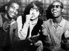 #PAULMCCARTNEY with Stevie Wonder, St James Nightclub, #London 1966.