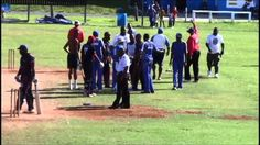Must see: Nasty altercation during a #cricket match in Bermuda